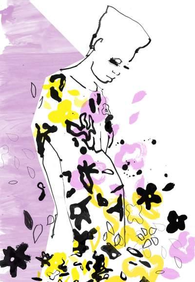 Fashion Illustration – STINE GOYA SS2021