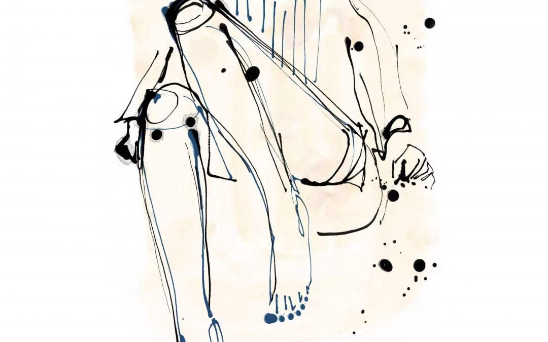 Illustrating Undressing
