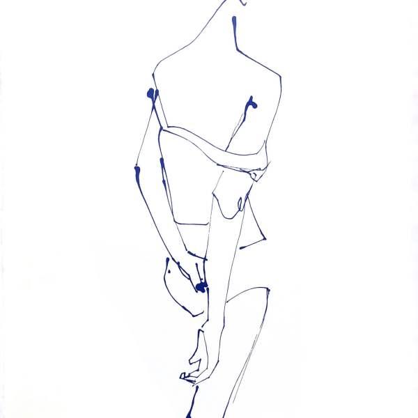 Undress - Back - Silkscreen Print