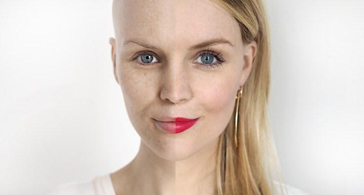 Mein Vorher-Nachher Make-Up mit Clarins