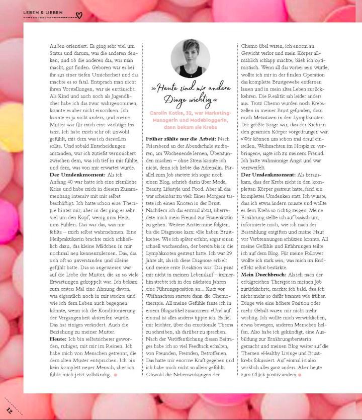 Carolin Kotke, Caro Kotke, Guido Magazin, Presse, Interview