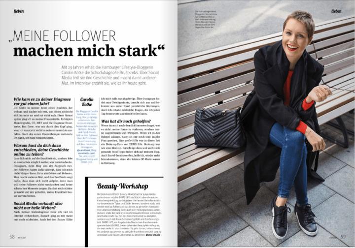 Carolin Kotke, Caro Kotke, Interview, centaur, Rossmann
