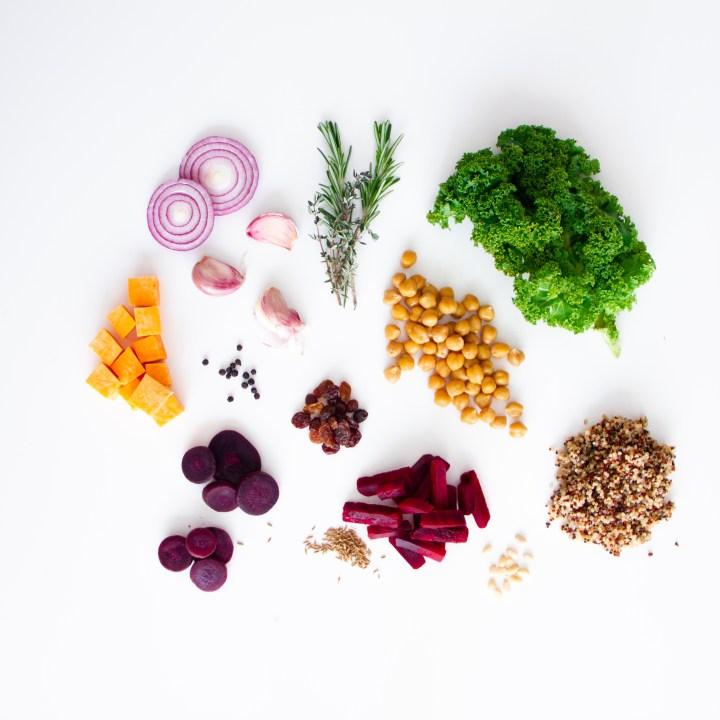 Every, Every Foods, Carolin Kotke, basische Ernährung, gesunde Ernährung, Tiefkühlkost, tiefgefroren, Fertiggericht, gesundes Fertiggericht, basisches Fertiggericht, basisch, vegan, glutenfrei, eat well feel better, eat the rainbow, Dreamin Red, Rote Beete, Grünkohl, Karotten, Anthocyane