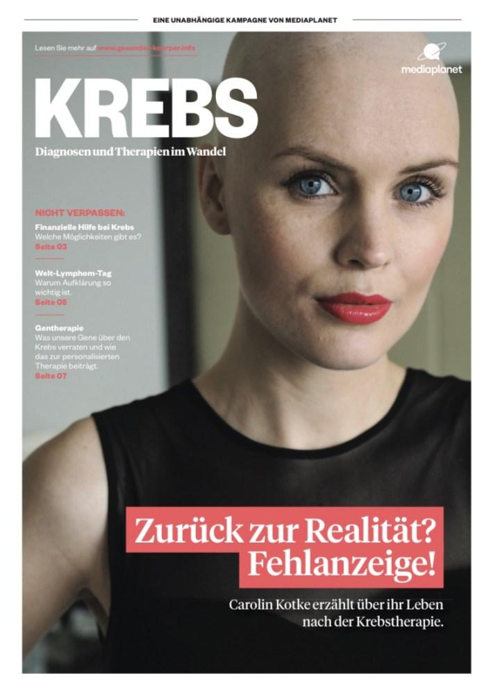 Carolin Kotke, Ovarektomie, Eierstockentfernung, BRCA1, Brustkrebs, Krebs