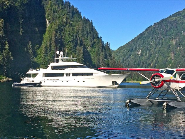 Alaska yacht charter collection 2016
