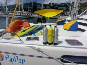 Captain Only charters have toys on board
