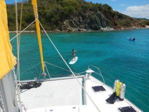 44' Sail Catamaran FLIP FLOP Crewed Yacht Chartering in the Caribbean