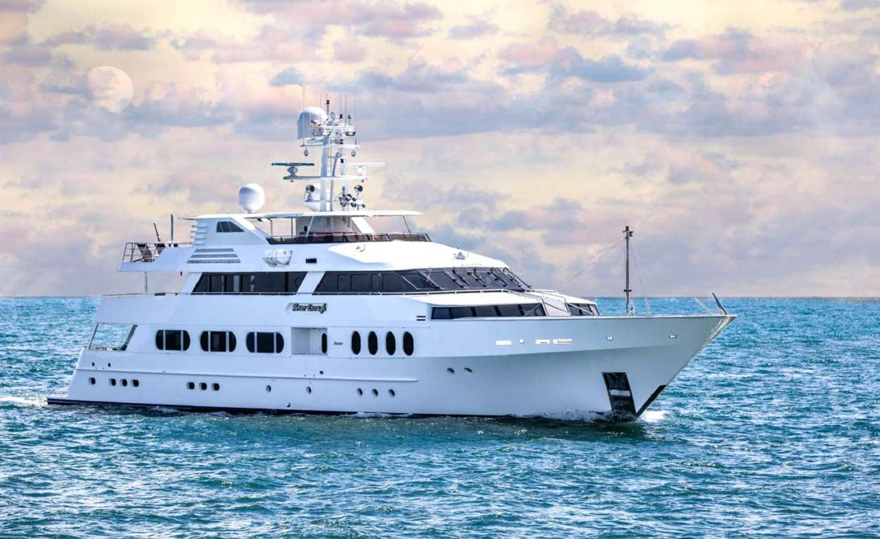 Never Enough 140ft Feadship M-Y at sea Operating in the Caribbean, Bahamas and North America
