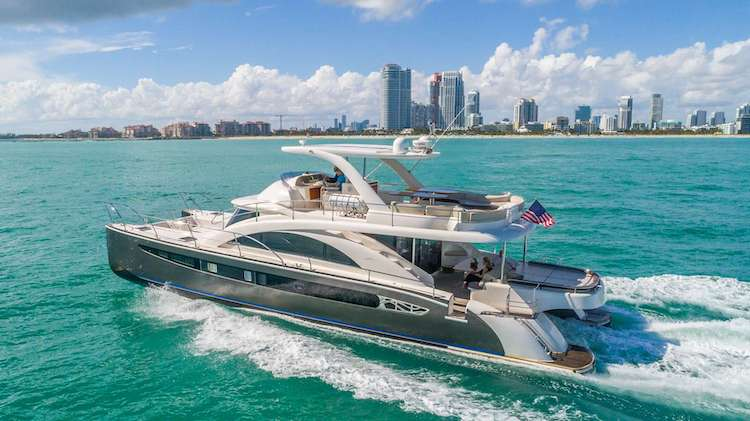 62ft Rodriguez motor yacht LEGEND & SOUL operates in the Bahamas and Florida