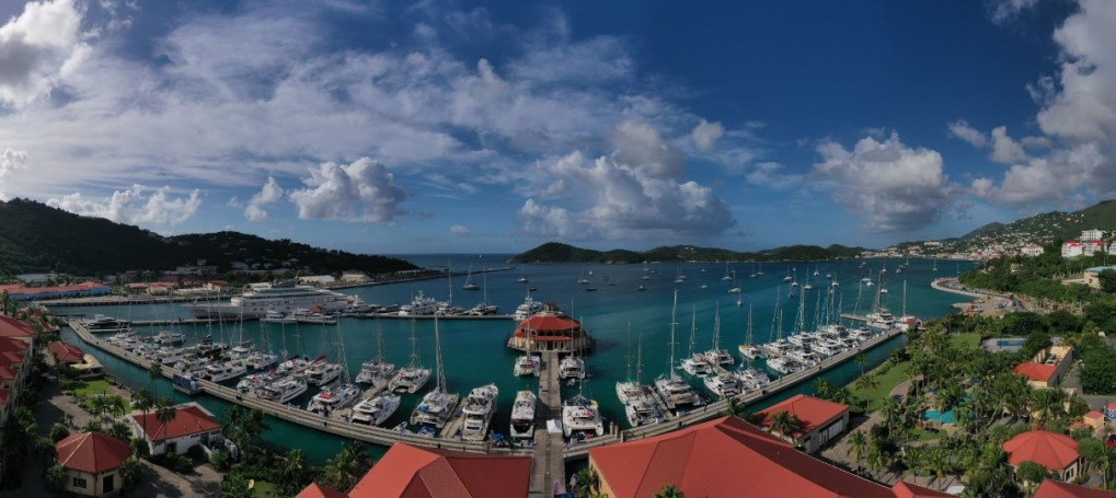USVI Charter Yacht Show fleet at IGY's Yacht Haven Grande, named Superyacht Marina of the Year 2020. Photo by Phil Blake