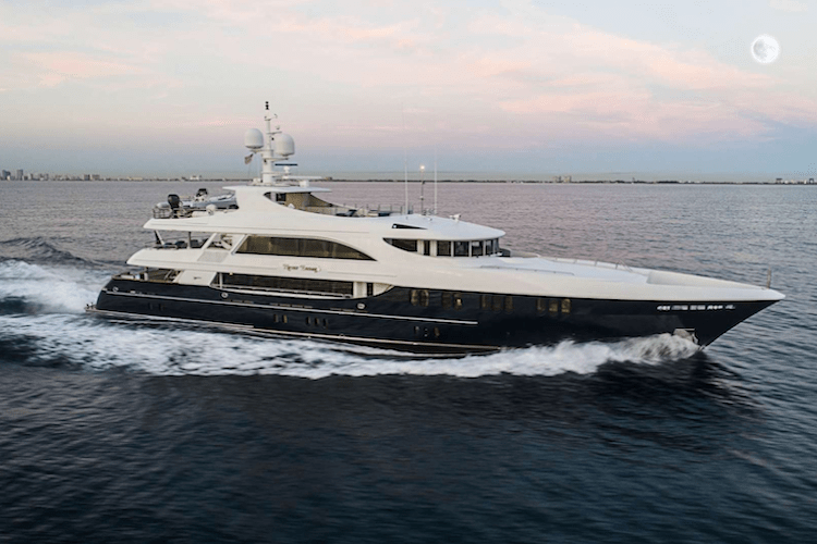 157ft Feadship motor yacht NEVER ENOUGH operates in the Bahamas, the Caribbean and North America