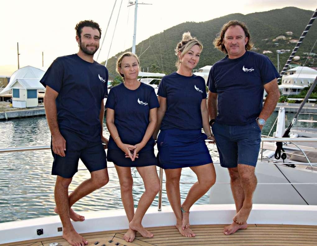 86 Motor Yacht ANGELEYES Crew