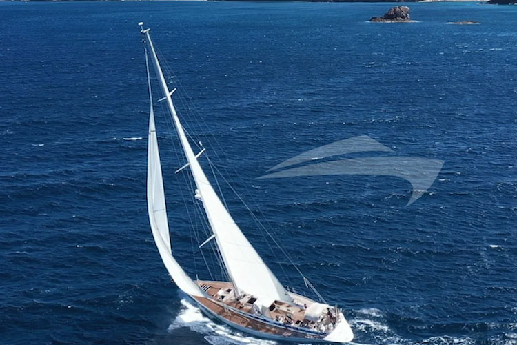 65ft Nautor's Swan sailing yacht AURORA operates in the Caribbean and New England