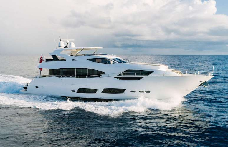 95ft Sunseeker motor yacht PERSEVERANCE 3 operates in Florida, the Bahamas and New England
