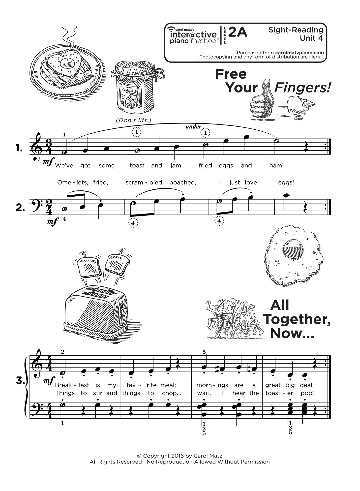 Piano Sight Reading Exercises