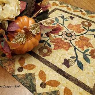 "Harvest Rose – October ""Top It Off"" Island Batik Challenge"