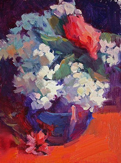Lilacs & Rose