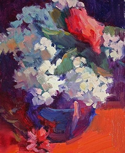 lilacs-and-rose