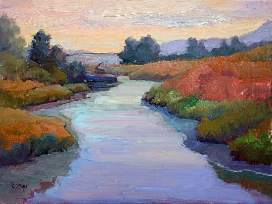 petaluma river morning