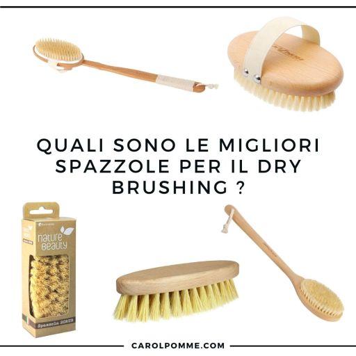 migliori spazzole dry brushing