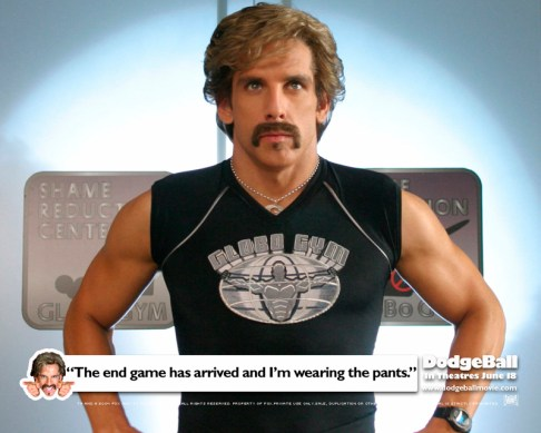 Globo Gym's White Goodman (Ben Stiller)