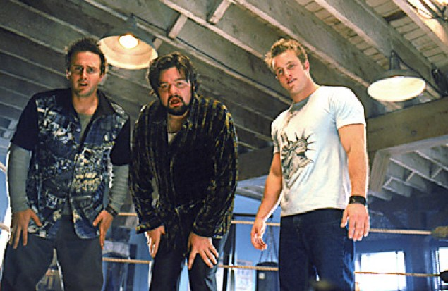 David Arquette, Oliver Platt and Scott Caan