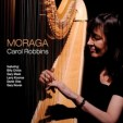 cd cover photo of Carol Robbins playing her harp