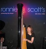 Carol Robbins Ronnie Scott's in London