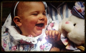 Elise's first Easter