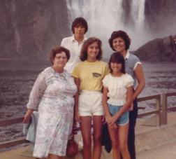 Grandma Limoges with us