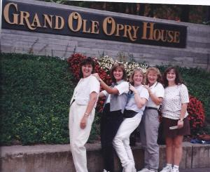 me, and friends at the grand old opry