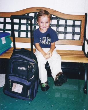 Jacob'e first day of school