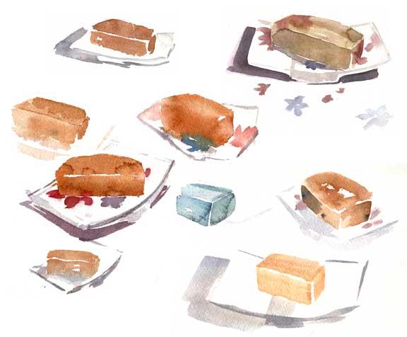 soap in watercolor