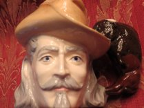 buffalo bill cody mug front view