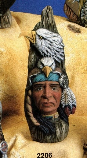 Kimple 2206 Indian with Eagle headdress