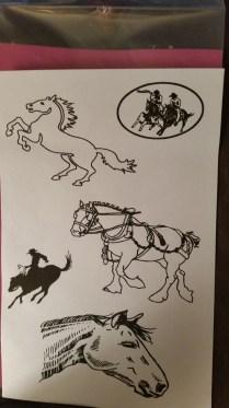 silkscreen horses 2