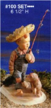 Alberta 100 fishing boy set