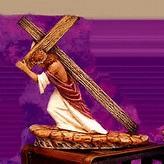Byron 0690 Jesus Carrying Cross