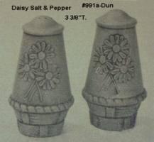 DUNCAN 0991A daisy salt & pepper