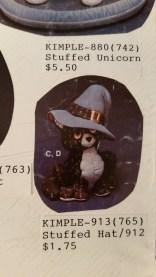 kimple 913 stuffed hat