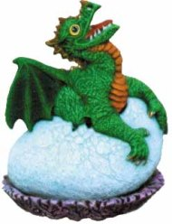 Nowell 2371 baby dragon in egg