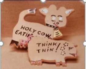 Weaver 885 cow & pig diet magnets