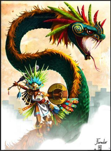 dragon Quetzalcoatl