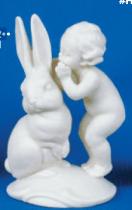 Alberta (Heinz) 9832 rabbit & cherub