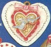 Alberta Ornaments 0294 Valentine Heart