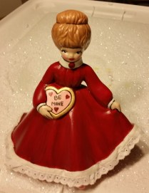 Valentine girl with lace CC
