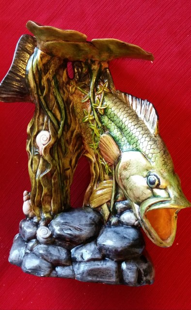 bass fish metallis WSMCS17 front view