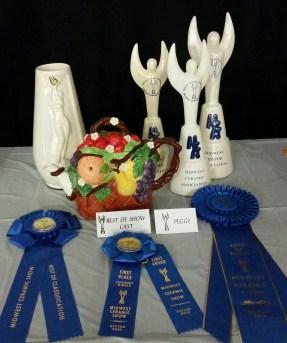 Fruit basket teapot with awards Carol MCS17