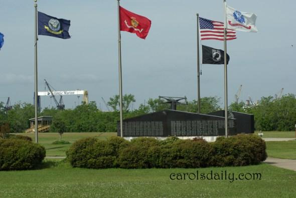 USS Battleship Vietnam Memorial
