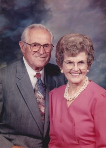 One of my favorite photos of Dad and Mom. Dad's been in heaven twelve years already.